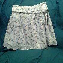 American Eagle Skirt Size 4 Skirt With Belt Photo