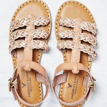American Eagle Strappy Braided Sandal Photo