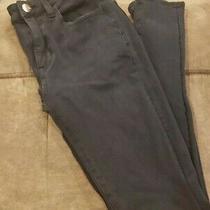 American Eagle Super Stretch X4 Hi-Rise Black Jegging Jeans Size 2 Long Photo