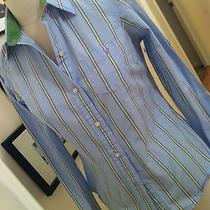 American Eagle Women's Colorful Striped Button Up Photo