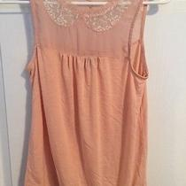 American Eagle Women's Sleeveless Shirt Xs in Blush Pink Photo