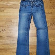 American Eagle Womens Slim Boot Cut Jeans Size 2 Photo