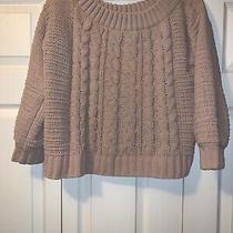 American Eagle Womens Soft Blush 3/4 Sleeve Sweater. Size M Euc Photo