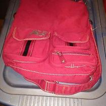 American Express Backpack for School or College Brand New Pretty Reddish Color Photo