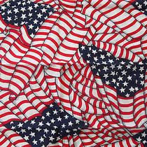 American Flag Bandana Old Glory Made in the u.s.a. Vintage Rare Cool Unique Photo