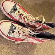 American Flag Converse High Tops Photo