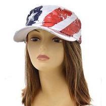 American Flag Vintage Cadet Hat   Photo