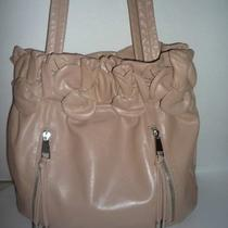American Glamour Badgely Mischka  Leather Hobo Beautiful Color to Be in Style Photo