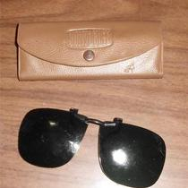 American Optical Sunvogues Sun Vogues Eye Glass Covers Shades W/case Vintage Ao Photo