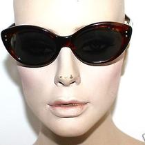 American Optical Vivacious  Amber Vintage Sunglasses Cn96t  Cat Eye No Box Photo