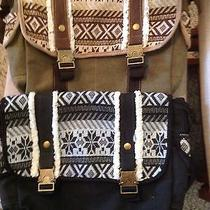 American Rag Canvas Messenger Purse Tote Bag. Nwot From Macy's Photo