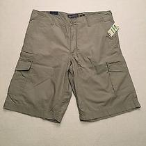 American Rag Cie Casual Shorts Griffin Grey Mens Size 34 Photo