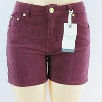 American Rag Cie Corduroy Brooklyn Shorts Zinfandel Wine 5 Lulu Photo