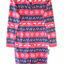 American Rag Holiday Christmas Red Medium Candy Cane Sleepwear Pajamas  Photo
