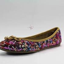 American Rag Lolly Ballet Flats Multi Purple Women's Shoe Size 7.5 Photo