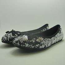 American Rag Lolly Womens Size 9.5 Silver Flats Shoes New Photo
