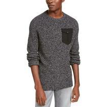 American Rag Mens Black Knit Crew Neck Pullover Sweater Xl  8333 Photo