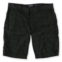 American Rag Mens Hudson Plaid Casual Walking Shorts Grey 38 Photo