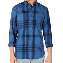 American Rag Mens Shirt Blue Size Small S Button Down Plaid Flannel 45 013 Photo