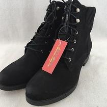 American Rag Swidler Ankle Boot Black Size 10.5m Rh6351 Photo