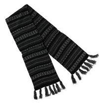 American Rag Unisex Knit Scarf Black Short Photo