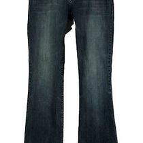American Rag Women's Jeans Denim Blue Flare Leg Size 5r Pants Photo