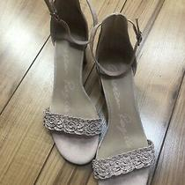 American Rag Womens Blush Casual Ankle Strap Sandals Size 9m Photo