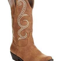 American Rag Womens Dawn Almond Toe Mid-Calf Cowboy Boots Natural Size 6.0 Cfo Photo