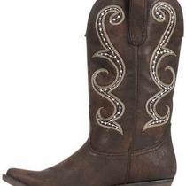 American Rag Womens Dawnn Pointed Toe Mid-Calf Cowboy Boots Brown Size 6.5 Inh Photo