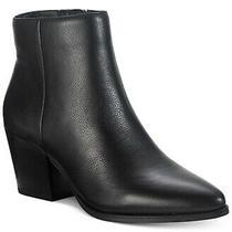 American Rag Womens Eryn Almond Toe Ankle Fashion Boots Black Size 6.0 1ek1 Photo