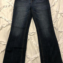 American Rag Womens Juniors Denim Blue Jeans - Boot Cut Size 11 R Regular Photo