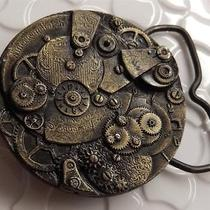 American Watch Co Belt Buckle Gears Perfect for Steampunk D559d Photo