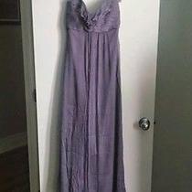 Amsale Bridesmaid G425c Chiffon Purple Violet - Size 8 (True Size) Photo