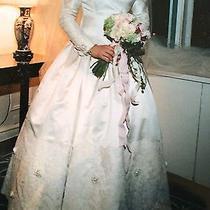Amsale Custom Vintage Wedding Dress  Photo