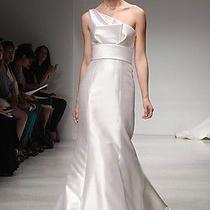 Amsale Hampton Wedding Dress Photo