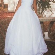 Amsale Ivory Silk Taffeta Wedding Dress  Photo