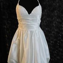 Amsale Josie Wedding Dress or Reception Dress Size 10 Ivory Photo
