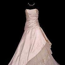 Amsale M567 Wedding Dress Nwt Size 10 Photo