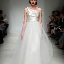 Amsale Sleeveless Wedding Dress (Size 4) Photo