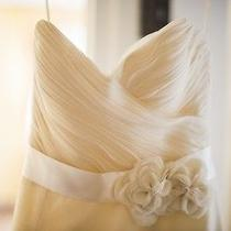 Amsale Tyler Designer Wedding Dress Photo