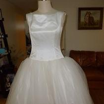 Amsale Wedding Dress Size 8 With Beaded and Sequin Jacket Photo