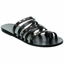 Ancient Greek Sandals Niki Nails Leather Sandal Women's Black 37 Photo