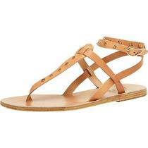 Ancient Greek Sandals Womens Estia Beige Thong Sandals 37 Medium (Bm) Bhfo 2619 Photo