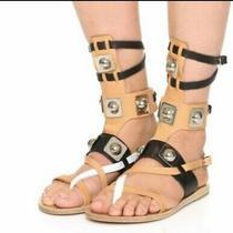 Ancient Greek Sandals X Peter Pilotto Gladiator Sandals sz.41/us 10.5 Photo