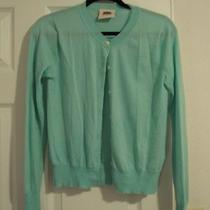 And Cake Cashmere Aqua Blue Sweater Medium Photo