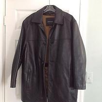 Andrew Marc - Black Leather Jacket Xl Black Photo