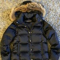 Andrew Marc Blue Puffer Jacket Size Small Photo
