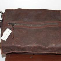 Andrew Marc Leather Laptop Bag 16