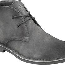 Andrew Marc New York Mens Hudson Suede Chukka Lace-Up Boots Gray 150 New 9.5 Photo