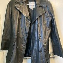 Andrew Marc New York Women's Genuine Leather Jacket Size Xs Photo